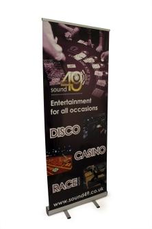 Sound49 Roller Banner